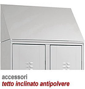 accessorio tetto inclinato antipolvere