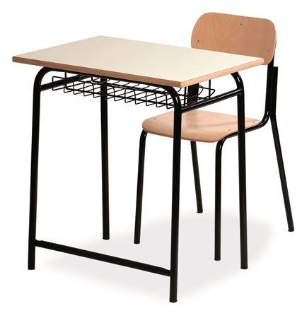 banco mono posto con sedia scolastica